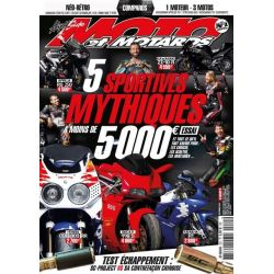 Magazine Moto et Motards n°221